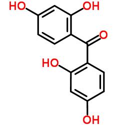 2,2',4,4'-Tetrahydroxybenzophenone CAS:131-55-5