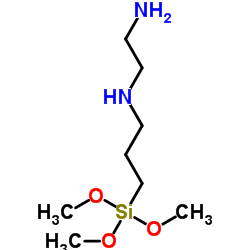 N-[3-(Trimethoxysilyl)propyl]ethylenediamine CAS:1760-24-3