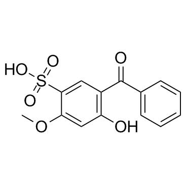 2- 하이드 록시 -4- 메 톡시 벤조 페논 -5- 설 폰산