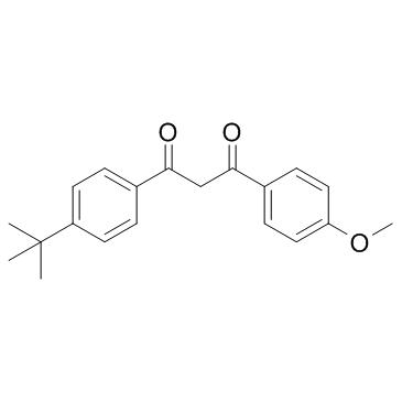 1-(4-tert-Butylphenyl)-3-(4-methoxyphenyl)-1,3-propanedione CAS:70356-09-1