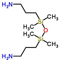 3-[[3-aminopropyl(dimethyl)silyl]oxy-dimethylsilyl]propan-1-amine CAS:2469-55-8