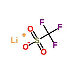 Lithium Trifluoromethanesulfonate CAS:33454-82-9