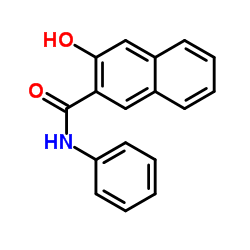 3-hydroxy-N-phenylnaphthalene-2-carboxamide CAS:92-77-3