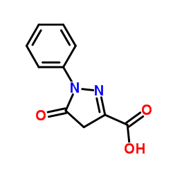 1-Phenyl-5-pyrazolone-3-carboxylic Acid CAS:119-18-6