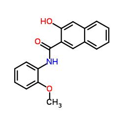 3- 하이드 록시 -N- (2- 메 톡시 페닐) -2- 나프타 마이드