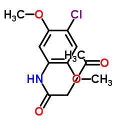 4'-Chloro-2',5'-dimethoxyacetoacetanilide CAS:4433-79-8