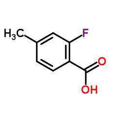 2-Fluoro-4-methylbenzoic acid CAS:7697-23-6