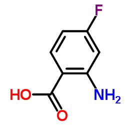 2-Amino-4-fluorobenzoic acid CAS:446-32-2