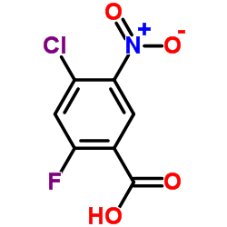 4-CHLORO-2-FLUORO-5-NITROBENZOIC ACID CAS:35112-05-1