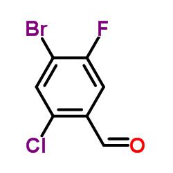 2-Chloro-4-bromo-5-fluorobenzaldehyde CAS:1214386-29-4