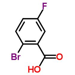 2-Bromo-5-fluorobenzoic acid CAS:394-28-5