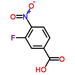 3-Fluoro-4-nitrobenzoic acid CAS:403-21-4