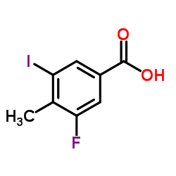 3-fluoro-5-iodo-4-methylbenzoic acid CAS:861905-94-4