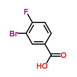 3-Bromo-4-fluorobenzoic Acid CAS:1007-16-5