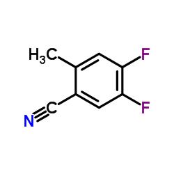 4,5-Difluoro-2-methylbenzonitrile CAS:1003708-82-4