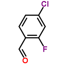 4-Chloro-2-fluorobenzaldehyde
