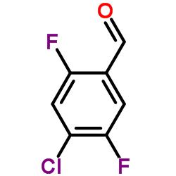4- 클로로 -2,5- 디 플루오로 벤즈알데히드