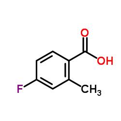 4-Fluoro-2-methylbenzoic acid CAS:321-21-1