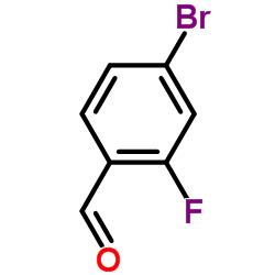 4-Bromo-2-fluorobenzaldehyde CAS:57848-46-1