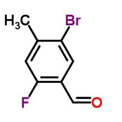 5-Bromo-2-fluoro-4-methylbenzaldehyde CAS:497224-12-1