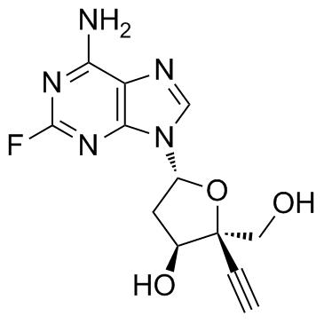 4'-ethynyl-2-fluoro-2'-deoxyadenosine CAS:865363-93-5