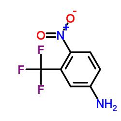 4-Nitro-3-trifluoromethyl aniline CAS:393-11-3