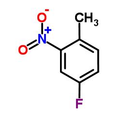 4-Fluoro-2-nitrotoluene CAS:446-10-6