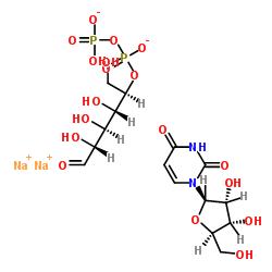 Uridine-5'-diphosphoglucose disodium salt CAS:27821-45-0