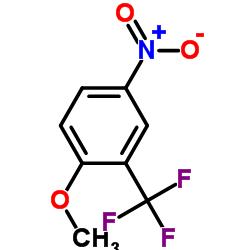 2-METHOXY-5-NITROBENZOTRIFLUORIDE CAS:654-76-2