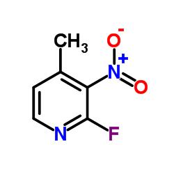 2- 플루오로 -4- 메틸 -3- 니트로 피리딘