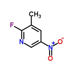 2- 플루오로 -3- 메틸 -5- 니트로 피리딘