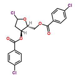 1-Chloro-3,5-di(4-chlorbenzoyl)-2-deoxy-D-ribose CAS:3601-90-9