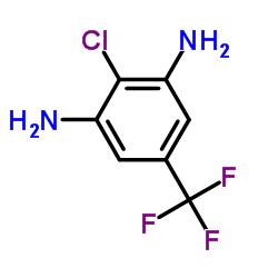 2-chloro-5-(trifluoromethyl)benzene-1,3-diamine CAS:34207-44-8