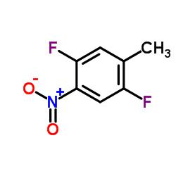 1,4-Difluoro-2-methyl-5-nitrobenzene CAS:141412-60-4