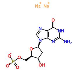 2'-Deoxyguanosine-5'-monophosphate disodium salt hydrate CAS:33430-61-4