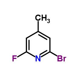 2- 브로 모 -6- 플루오로 -4- 메틸 피리딘