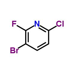 3-Bromo-6-chloro-2-fluoropyridine CAS:885952-18-1