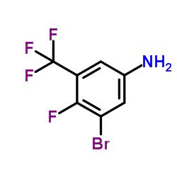 3-bromo-4-fluoro-5-(trifluoromethyl)aniline CAS:1233026-11-3