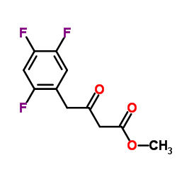 Methyl 3-oxo-4-(2,4,5-trifluorophenyl)butanoate CAS:769195-26-8