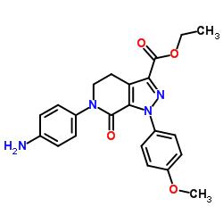 에틸 6- (4- 아미노 페닐) -1- (4- 메 톡시 페닐) -7- 옥소 -4,5- 디 하이드로 피라 졸로 [3,4-c] 피리딘 -3- 카르 복실 레이트