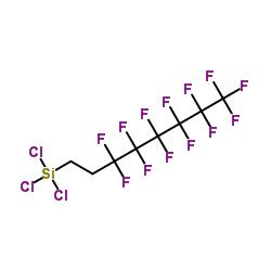 Trichloro(1H,1H,2H,2H-tridecafluoro-n-octyl)silane CAS:78560-45-9