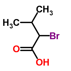 2-Bromo-3-methylbutyric acid CAS:565-74-2