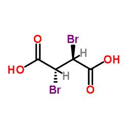 meso-2,3-Dibromosuccinic acid CAS:608-36-6