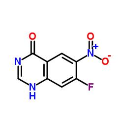7-Fluoro-6-nitro-4-hydroxyquinazoline CAS:162012-69-3