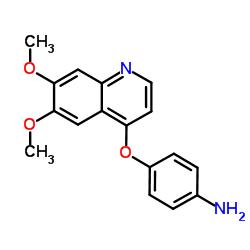 4- (6,7- 디메 톡시 퀴놀린 -4- 일) 옥시 아닐린