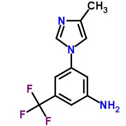 3-(4-Methyl-1H-Imidazol-1-yl)-5-(Trifluoromethyl)Aniline CAS:641571-11-1