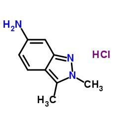 2,3-Dimethyl-2H-indazol-6-amine hydrochloride CAS:635702-60-2
