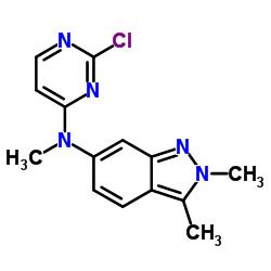 N-(2-Chloropyrimidin-4-yl)-N,2,3-trimethyl-2H-indazol-6-amine CAS:444731-75-3