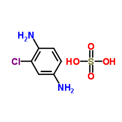 2-chloro-1,4-phenylenediamine sulfate CAS:61702-44-1
