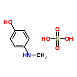 4- 메틸 아미노 페놀 설페이트